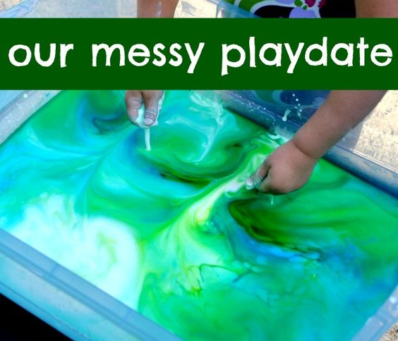 Outdoor Messy Playdate
