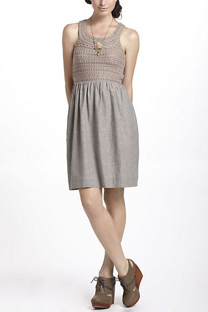 Textured Summer Sweater Dress - Anthropologie.com