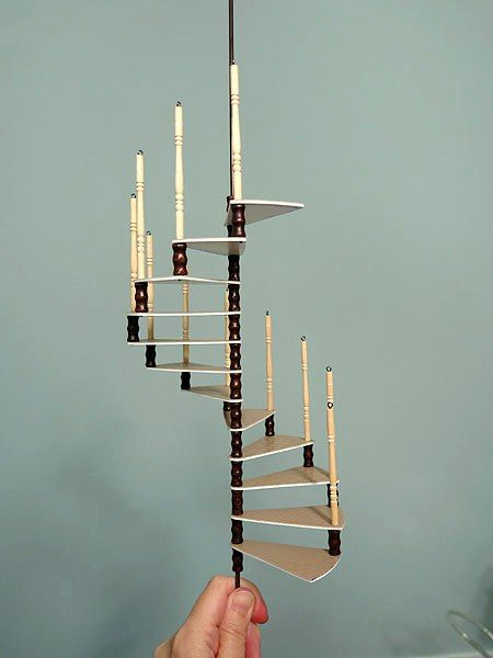 Tower Staircase Miniature : Spiral staircases spirals and on pinterest