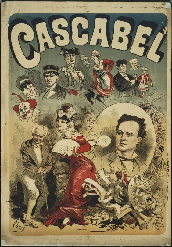 La Belle Epoque. Jules Chéret Cascabel. 1877-79