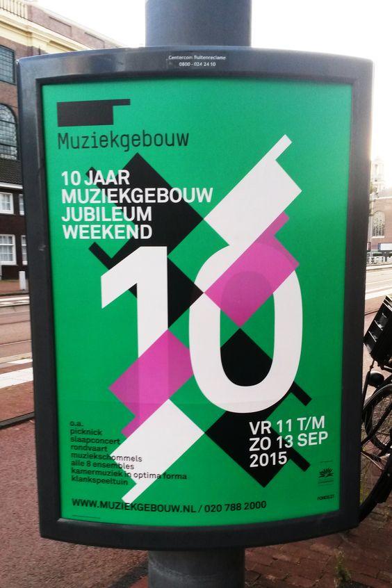 muziekgebouw poster