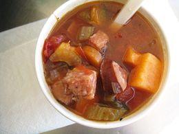 Poblano soup | Soups | Pinterest | Poblano Soup, Kielbasa and Soups ...
