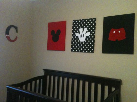 my newest project mickey mouse room for carter cash