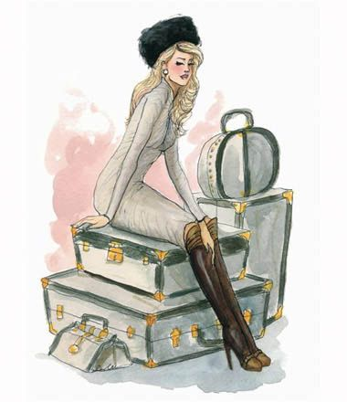 The Sketch Book – Inslee Haynes | Fashion Illustration by Inslee | Page 62: