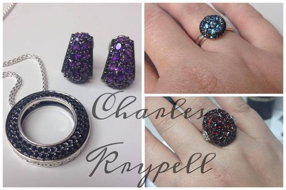 #charleskrypell #jewelry #womens  jewelry #rings #pendant