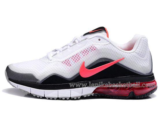 Nike Air Max TR 180 Chaussure Pour Femme Blanc Noir Rose  537803-106-Boutique ...