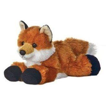 Amazon.com: Foxie Fox Mini Flopsie 8 by Aurora: Toys & Games