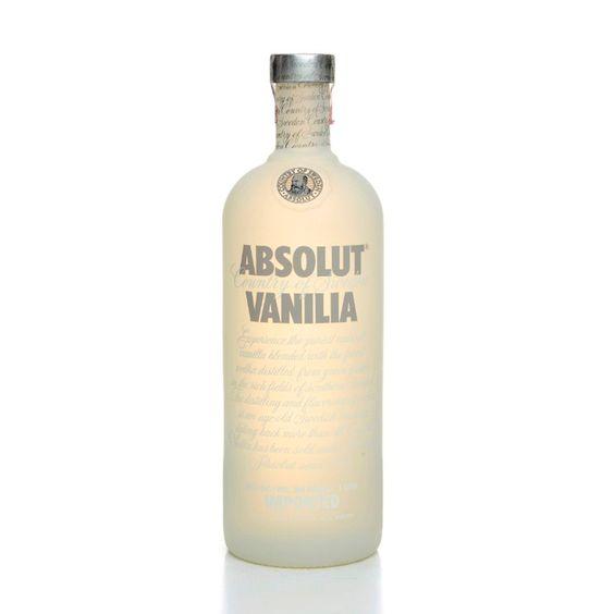 Vodka Absolut Vanilla 1L - Super Adega