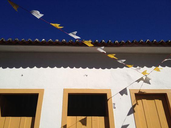 Pausa para olhar o céu na FLIP, em Parati (2012)