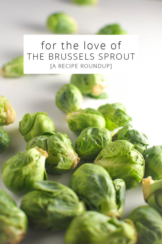 For the Love of the Brussels Sprout