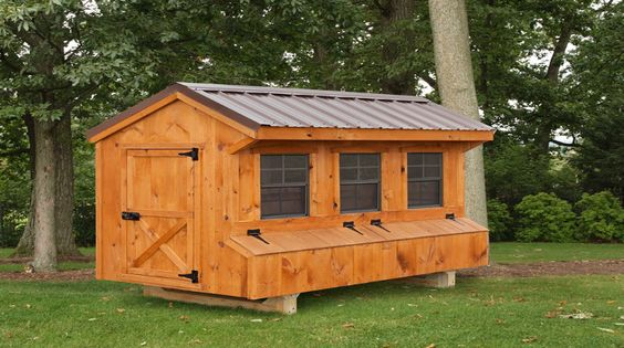 Amish Chicken Co-op Plans | Absolutely Amish Chicken Coops