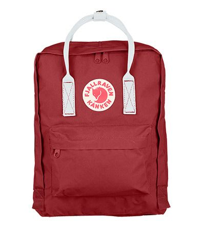 kanken ox red and white