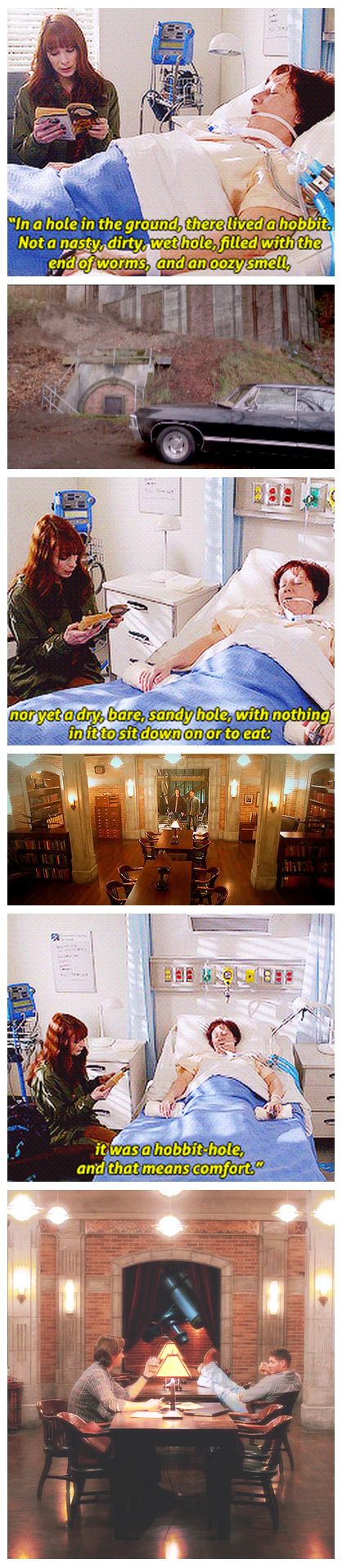 [gif-set] The Bunker. <3 Thank you, kind soul who made this I sobbed at this episode