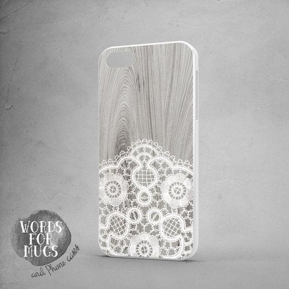 iphone 6 plus handyhülle white lace bride