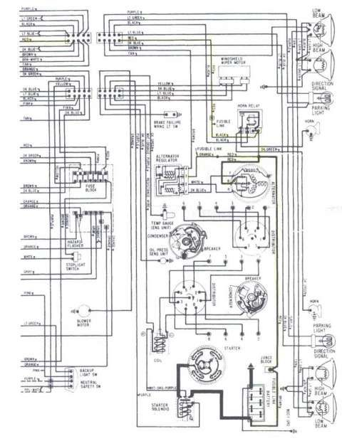 72 Chevelle Engine Wiring Harness