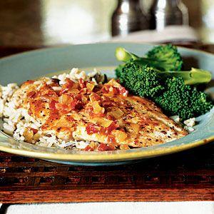 How To Sauté Chicken   Pan Sauce Secrets   CookingLight.com: Chicken Recipes, Chicken Dinner, Bacon Chicken, Main Dishes, Sauce Recipe, Chicken Breast