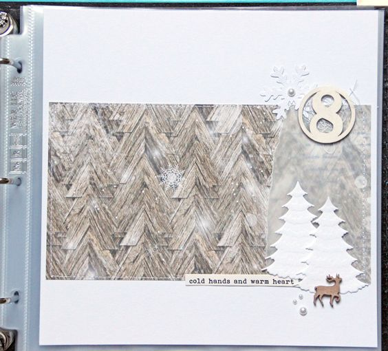 December Daily pages  8-12 by AnkeKramer at @studio_calico