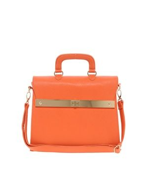 Enlarge ASOS Top Handle Bag With Bar Lock Fitting