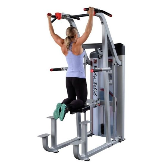 Image result for assisted pullup machine