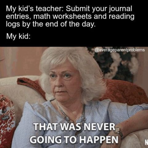 31 Funny Back To School Memes Because We All Can T Wait School Memes Teaching Memes Homeschool Memes