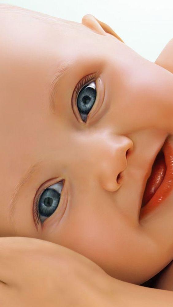 il a des yeux magnifique,