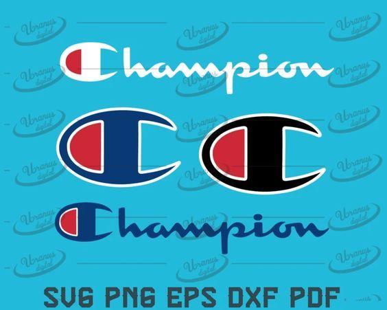 Champion Svg Champion Logo Svg Champion Brand Logo Svg Png Eps Dxf Pdf File Champion Logo Champion Brand Svg