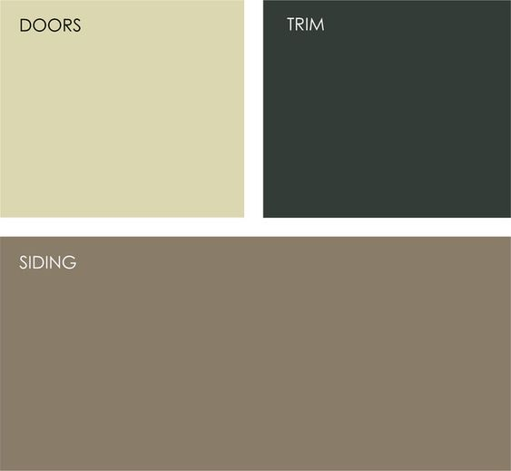 Exterior Colors Taupe And House Colors On Pinterest