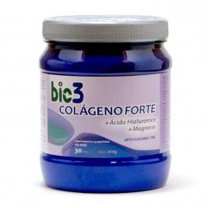Bio3 Colágeno Forte   Ácido Hialurónico   Magnesio (360g)