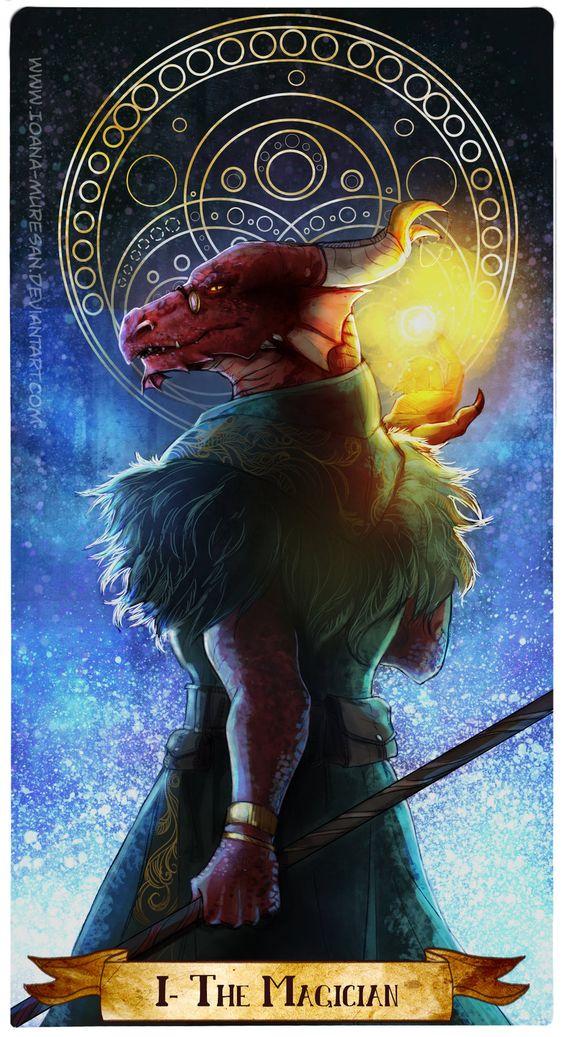 I -The Magician by Ioana-Muresan on DeviantArt