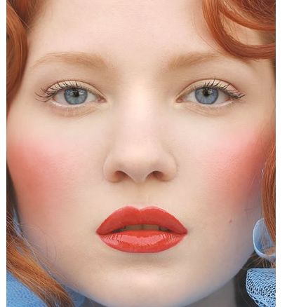makeup idea for redheads