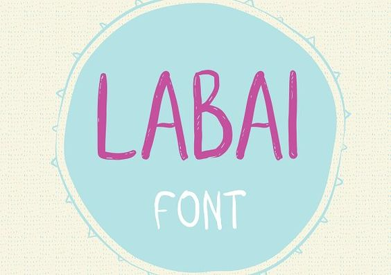 Labai font by Patchpo Graphics on @creativemarket
