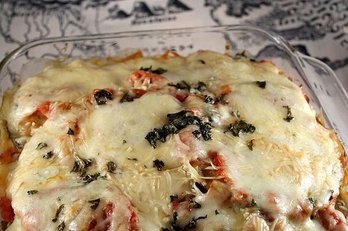 Haven't tried it yet, but looks delicious...gluten-free eggplant parmesan