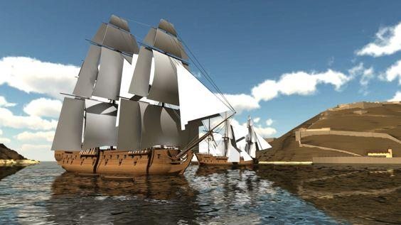 Genial recreación en 3D de como era Donostia antes de la queda de 1813