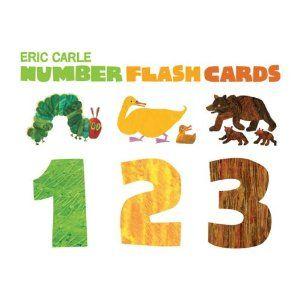 Number Flash Cards 1 2 3: Amazon.fr: Eric Carle: Livres anglais et étrangers