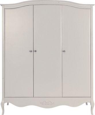 Schreiber Alysa 3 Door Wardrobe Off White Homebase Bedroom Bliss Pinterest Wardrobes