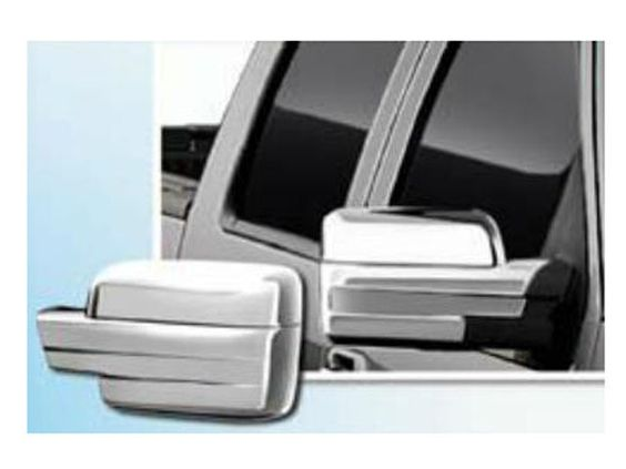F150 2009-2014 FORD (2 pieces: Mirror Cover set: *Chrome Plated ABS plastic - Imported) MC49308