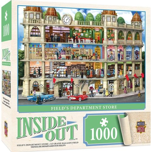 Inside Out Fields Department Store 1000 Piece Jigsaw Puzzle In 2020 With Images Jigsaw Puzzles 1000 Piece Jigsaw Puzzles Puzzle Frame
