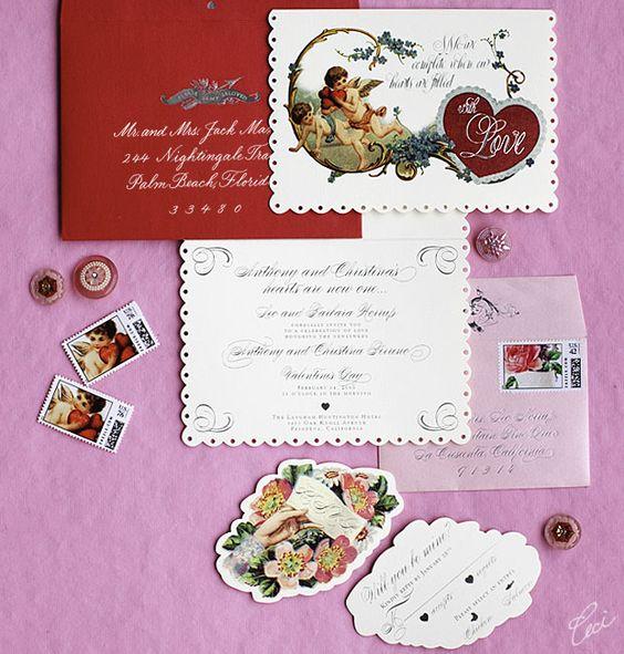 Valentine Brunch - Event Invitations - Private - Ceci Event - Ceci New York