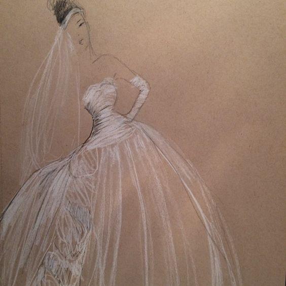sketch bride from @artistsusan