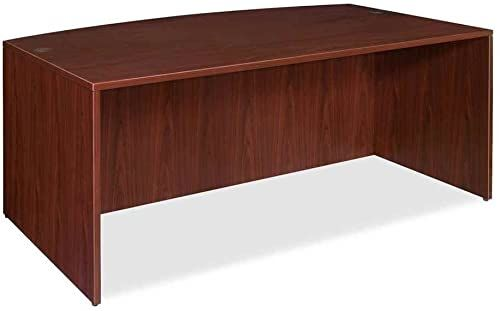 The Perfect Lorell Bow Front Desk Shell 72 By 36 By 29 1 2 Inch Mahogany Top Rated Furniture 229 54 Prettytrendyfash Lorell Solid Wood Desk L Shaped Desk