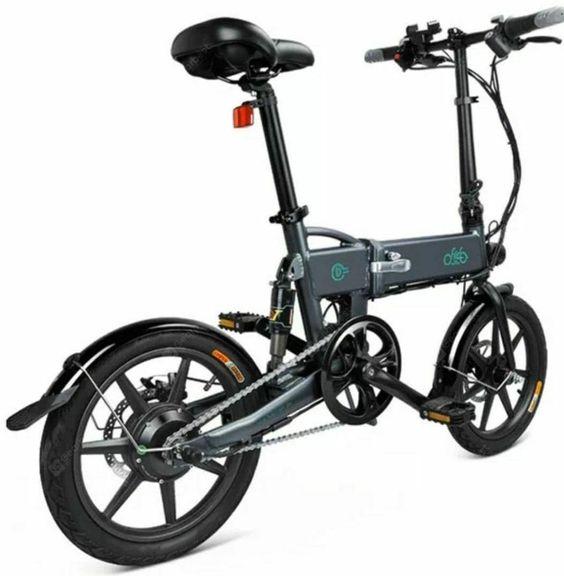 Fiido D2 Smartfaltbar Moped Elektrofahrrad Doppelscheibenbremsen