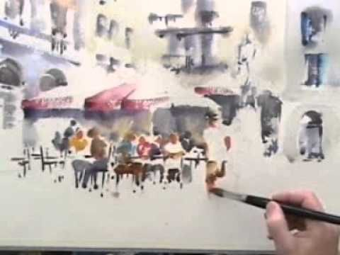Trevor Lingard Watercolour Paintings - YouTube
