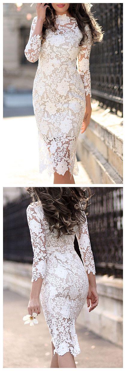 Vestido Cor Pure para a Primavera # Moda # Gearbest #:
