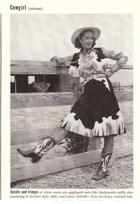 Vintage Cowgirl Inspiration