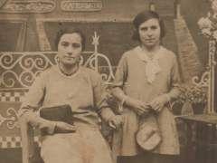 Flora Severo Díaz y Pastora Díaz Murillo.