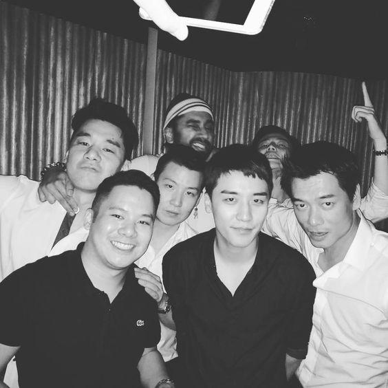 160816 williewonkar instagram: with seungri