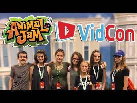ANIMAL JAM VIDCON 2016 [ft. APARRI, WISTERIAMOON, WOLFFEYCAT, BEPPER, TWINKLE & LOVENARWHAL] - YouTube