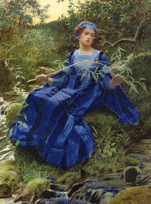 The Fresh Streams Ran By Her Lexden Lewis Pocock (1850-1919)