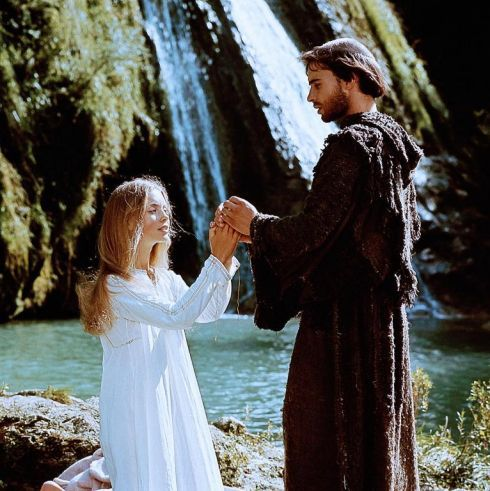 """St. Clare ans St. Francis of Assisi ~ Judi Bowker and Graham Faulkner, in """"Brother Sun, Sister Moon,""""  1972 film directed by Franco Zeffirelli"""