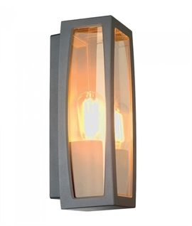 Flush Mounted Exterior Box Light - Two Finishes